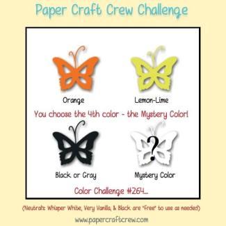 Paper Craft Crew Color Challenge 264