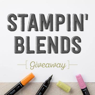 Stampin' Blends Giveaway by Stampin' Up!