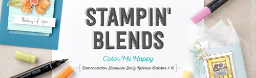 Contact Pam Staples for the Stampin' Blends available soon. A quality Stampin' Up! products.
