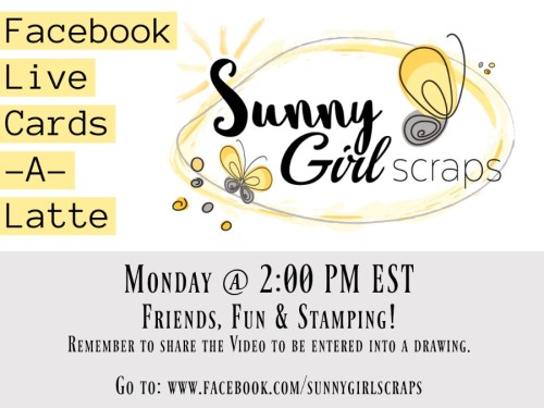 Facebook Live with SunnyGirlScraps