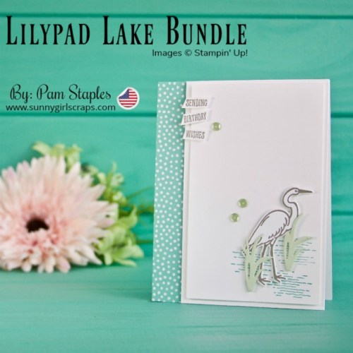 ORDER TODAY! SHOP Stampin' Up! ONLINE 24/7! Buy 3 / Get 1 Free Designer Series Paper Sale Go to www.sunnygirlscraps.com Create a card using the Lilypad Lake Bundle. Clean and simple design featuring an Egret. #shop #stampinup #papercraft #papercrafts #create #creative #creativity #becreative #makersgonnamake #craft #crafty #crafter #creating #createeveryday #lilypadlakeside #sunnygirlscraps #sizzix #framelits #happybirthday #handmadecard #lakeside #egrets #workingvacation #artisantextures #handmade #diy