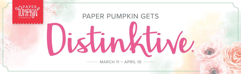 Paper Pumpkin March Birthday Surprise