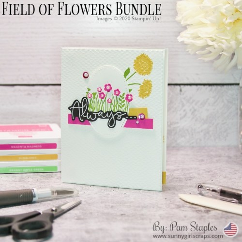 Always Thinking of You featuring Field of Flowers Bundle