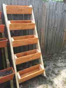 Ana White strawberry ladder