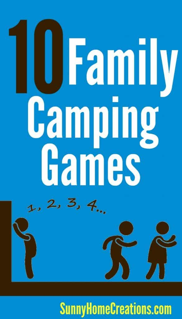 10 family camping games. Super fun games!