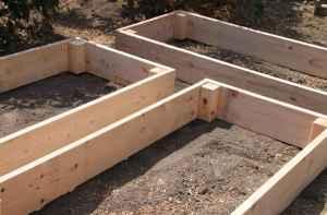 Easy Raised Wooden Garden Beds
