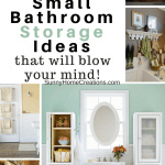 13 Mind Blowing Small Bathroom Storage Ideas