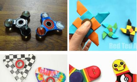 13 DIY Fidget Spinner