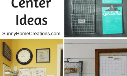 21 Brilliant Family Command Center Ideas to Keep You Organized