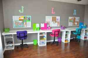 Kids Desks Homework Stations