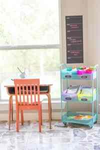 Rolling homework station
