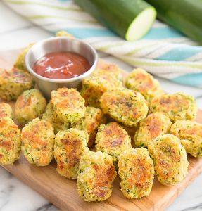 Parmesan Zucchini Tots