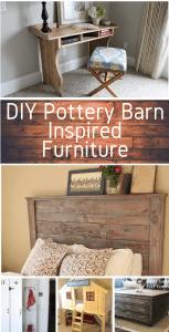 DIY Pottery Barn Inspired Furniture