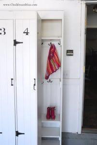 Pottery Barn DIY Lockers