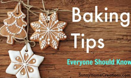Common Sense Baking Tips EVERYONE Should Know