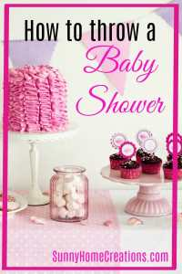 How to throw a baby shower. Some good ideas here, especially if you haven't ever been to one before.