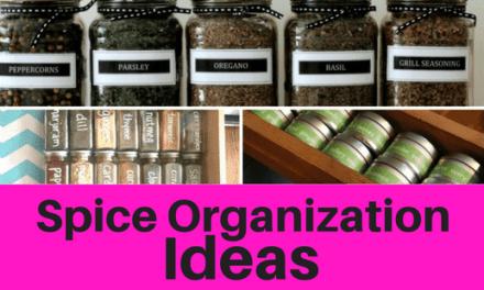 Spice Organization Ideas