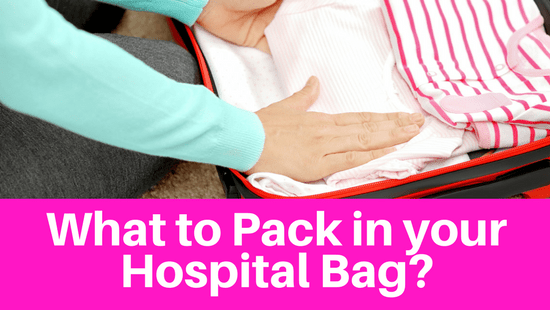 What to pack in your hospital bag when having a baby