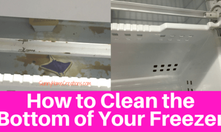 How to Clean the Bottom of a Freezer Door