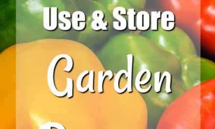 Simple Ways to Use and Store Garden Peppers