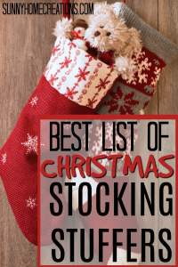 Best list of Christmas Stocking Stuffers