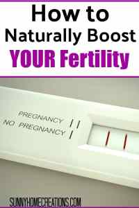 How to Naturally Boost Your Fertility