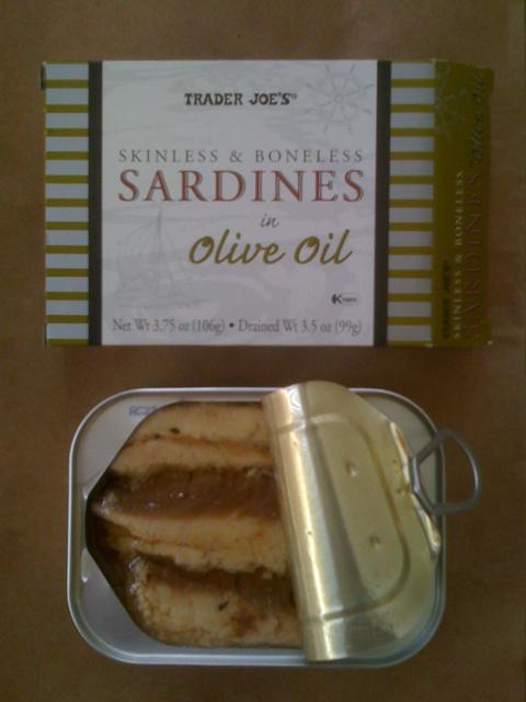 Trader Joe's Skinless & Boneless Sardines in Olive Oil