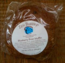 Zen Bakery Blueberry Bran Muffin