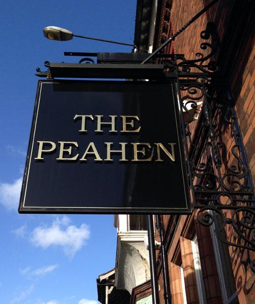 Peahen St Albans