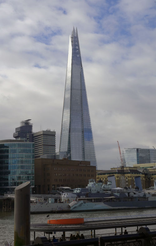 Guess the London Monument Game The Shard