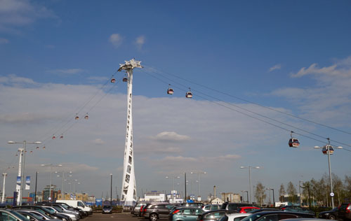 Emirates Cable Car London Greenwich