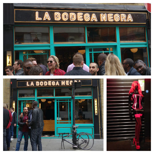 London Bloggers La Bodega Negra