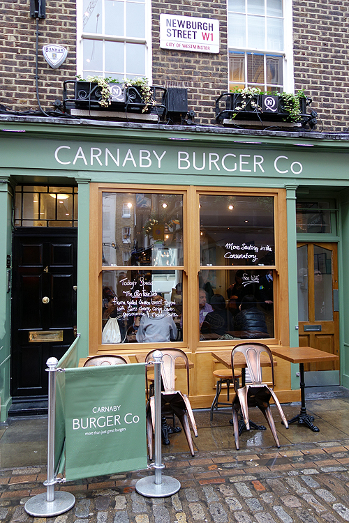 Carnaby Burger Co London