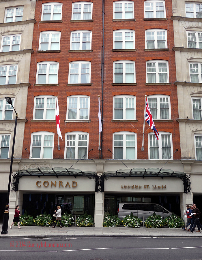 Conrad London St James Afternoon Tea