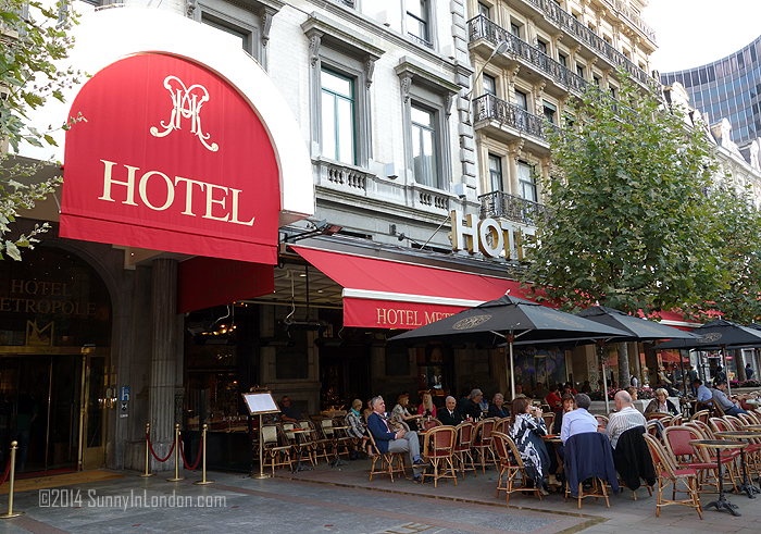 Hotel Metropole Brussels Review