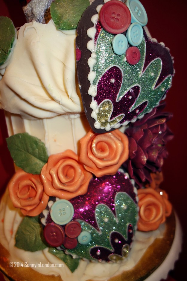 A chocolate cake from Choccywoccydoodah, featured later this week on the blog!