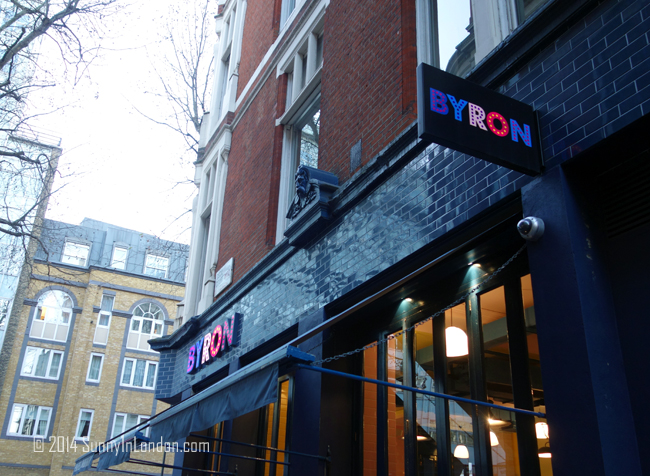 Bryon Burger London Review