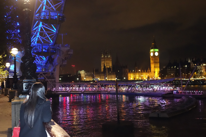 best views of london- The London Eye