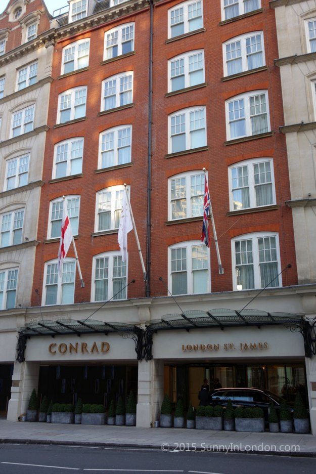 Christmas Afternoon Tea Conrad London St James Review