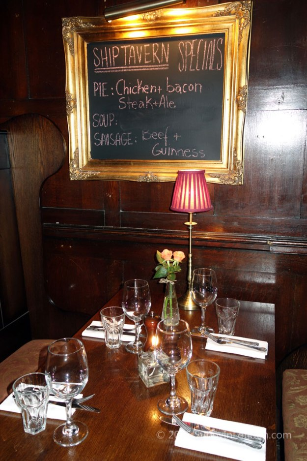 The Ship Tavern Review Holborn, London The Best Pub Food