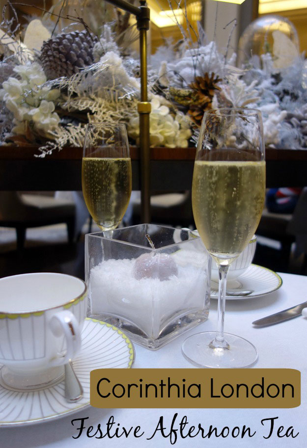 Things to Do in London at Christmas Corinthia Hotel Afternoon Christmas Tea