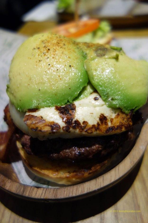 Kua Aina Burgers London Goodge Street Avocado Burger