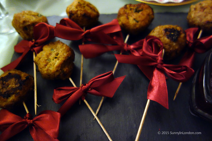 Lactose Free Christmas Recipes Bake-a-Book London West Hampstead Arla Lactofree Turkey Lollipops
