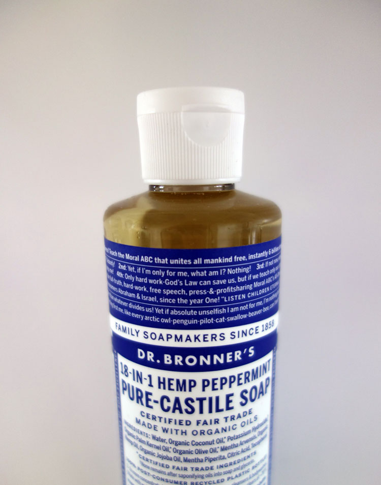Dr Bronner's Castile Soap Uses Product Review UK