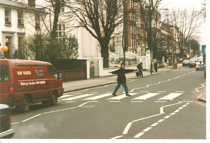 London Blogger Abbey Road Beatles Walking Tour London 1995