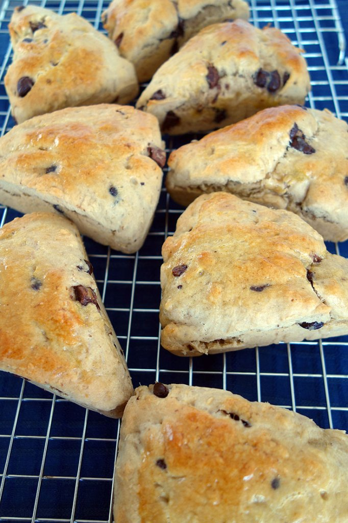 Banana Chocolate Chip Scone Recipe from a Londoner
