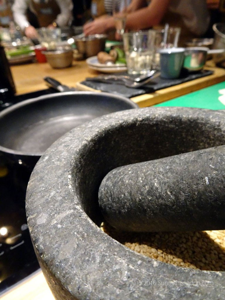 Jamie Oliver Cookery School Review in London Taste of Japan Cooking Class