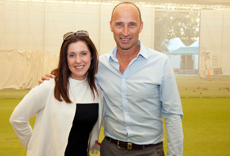Lord's Cricket Ground Tour Nasser Hussain