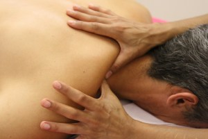 Acupressure massage can be used in place of acupuncture for online appointments