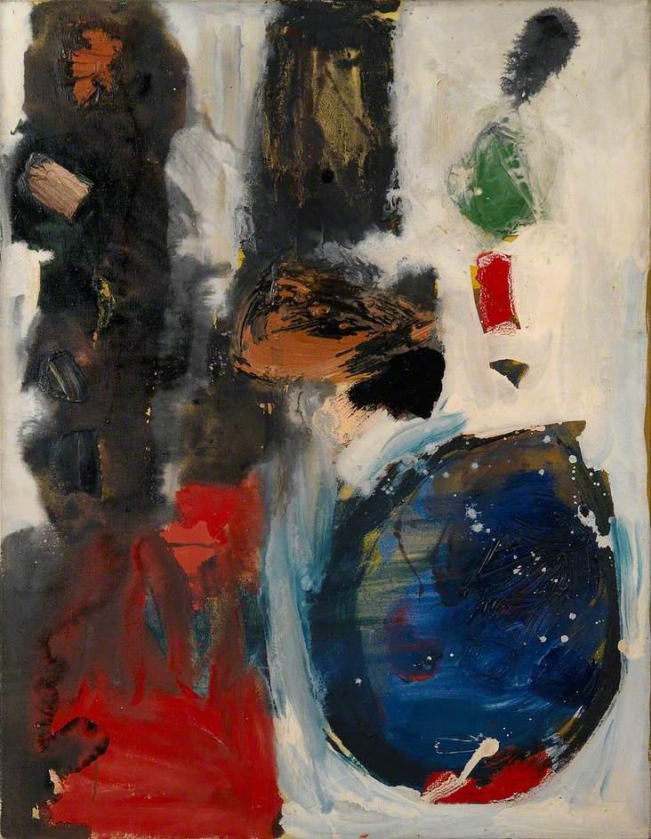 Ayres, Gillian; Sun Up; Victoria Art Gallery; http://www.artuk.org/artworks/sun-up-229844